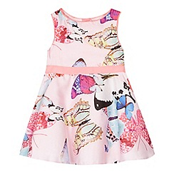 Baker by Ted Baker - Babies light pink butterfly prom dress