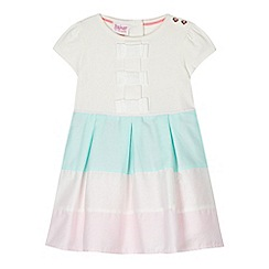 Baker by Ted Baker - Babies light pink colour block dress