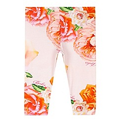 Baker by Ted Baker - Girl's pink rose printed leggings