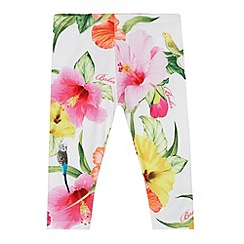 Baker by Ted Baker - Girl's white parakeet leggings