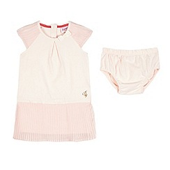 Baker by Ted Baker - Babies light pink pleated dress
