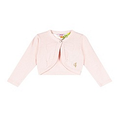 Baker by Ted Baker - Babies light pink bow cardigan
