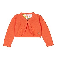 Baker by Ted Baker - Girl's orange cover up cardigan