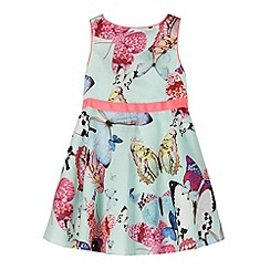 Baker by Ted Baker - Girl's light green butterfly prom dress