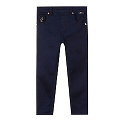 Baker by Ted Baker - Girl's navy stretch jeans