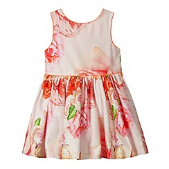 Baker by Ted Baker - Girl's light pink floral prom dress