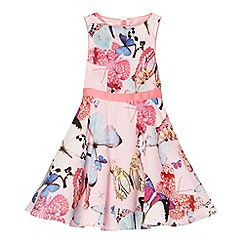 Baker by Ted Baker - Girl's light pink butterfly prom dress