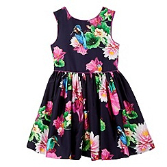 Baker by Ted Baker - Girl's pink floral dress
