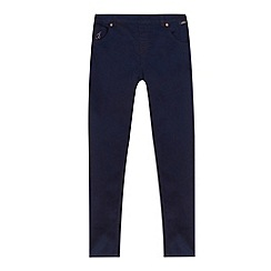 Baker by Ted Baker - Girl's navy super stretch jeans