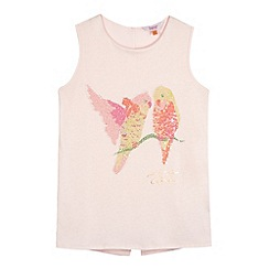Baker by Ted Baker - Girl's pink bird graphic top