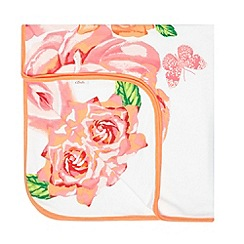 Baker by Ted Baker - Girl's pink butterfly rose blanket