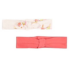 Baker by Ted Baker - Pack of two babies pink bird hairband