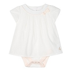 Baker by Ted Baker - Babies off white 2-in-1 top and bodysuit