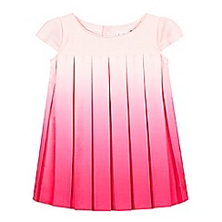 Baker by Ted Baker - Girl's pink ombre pleated dress