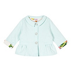 Baker by Ted Baker - Babies light green quilted jacket