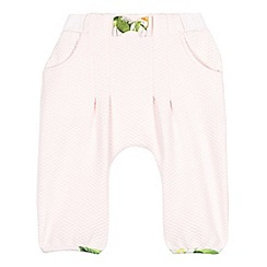 Baker by Ted Baker - Babies light pink jersey hareem pants