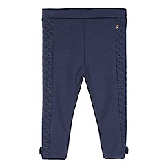 Baker by Ted Baker - Babies dark blue quilted panel leggings