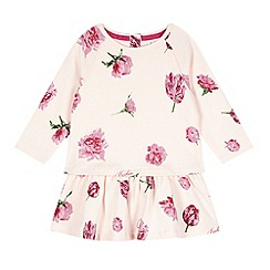 Baker by Ted Baker - Babies pink tulip jersey dress