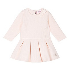 Baker by Ted Baker - Babies pink quilted dress