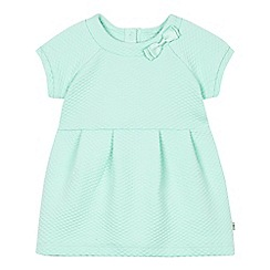 Baker by Ted Baker - Babies light green jacquard dress