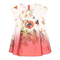 Baker by Ted Baker - Baby girls' pink floral dress