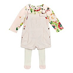 Baker by Ted Baker - Baby girls'light pink floral bodysuit