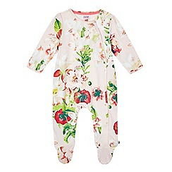 Baker by Ted Baker - Babies' floral sleepsuit