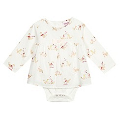 Baker by Ted Baker - Babies' white seal bodysuit