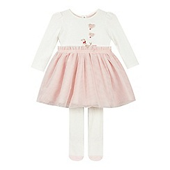 Baker by Ted Baker - Baby girls' pink seal dress set