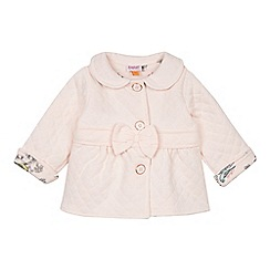 Baker by Ted Baker - Babies light pink quilted jacket