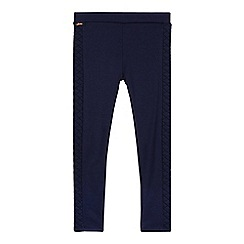 Baker by Ted Baker - Girl's dark blue quilted leggings