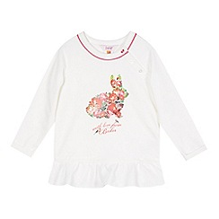 Baker by Ted Baker - Girl's off white bunny print top