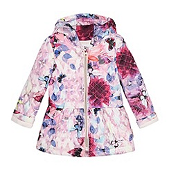 Baker by Ted Baker - Baby girls' pink butterfly print jacket