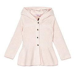 Baker by Ted Baker - Girls' pink knitted cardigan