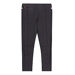 Baker by Ted Baker - Girl's dark blue jersey leggings