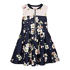Baker by Ted Baker - Girl's navy tulip prom dress