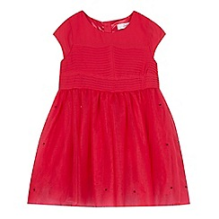 Baker by Ted Baker - Girls' pink tulle dress