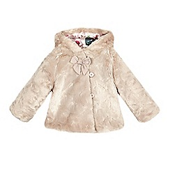 Baker by Ted Baker - Girls' pink faux fur coat