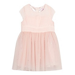 Baker by Ted Baker - Girls' peach tulle dress