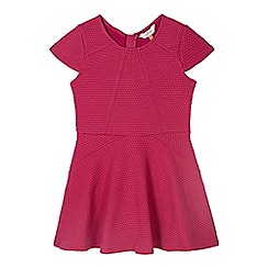 Baker by Ted Baker - Girl's pink textured dress