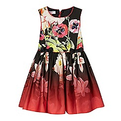 Baker by Ted Baker - Girls' black floral dress