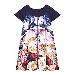 Baker by Ted Baker - Girls' printed trapeze dress