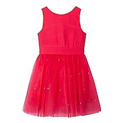 Baker by Ted Baker - Girls' pink sparkle dress