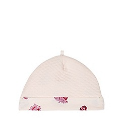 Baker by Ted Baker - Babies light pink quilted cap