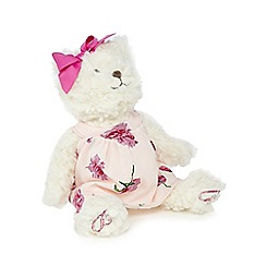 Baker by Ted Baker - Babies teddy bear in dress