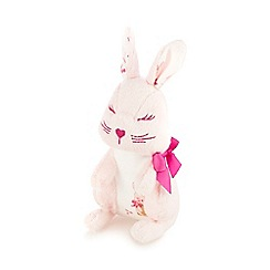 Baker by Ted Baker - Baby girls' pink bunny soft toy