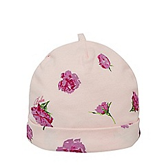 Baker by Ted Baker - Babies light pink tulip printed cap