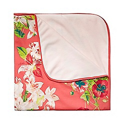 Baker by Ted Baker - Baby girls' pink bloom blanket