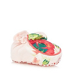 Baker by Ted Baker - Baby girls' pink floral booties