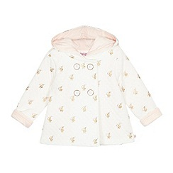 Baker by Ted Baker - Baby girls' white hooded jacket